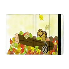Squirrel Apple Ipad Mini Flip Case