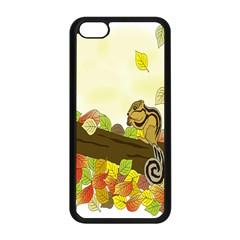 Squirrel Apple iPhone 5C Seamless Case (Black)