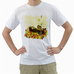 Squirrel Men s T-Shirt (White)