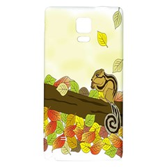 Squirrel Galaxy Note 4 Back Case