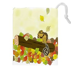 Squirrel Drawstring Pouches (XXL)