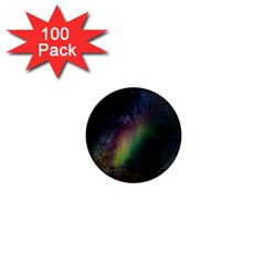 Starry Sky Galaxy Star Milky Way 1  Mini Magnets (100 pack)