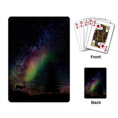 Starry Sky Galaxy Star Milky Way Playing Card