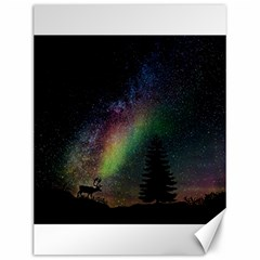 Starry Sky Galaxy Star Milky Way Canvas 12  x 16
