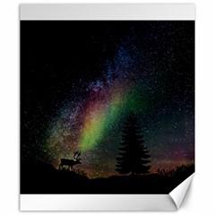 Starry Sky Galaxy Star Milky Way Canvas 20  x 24