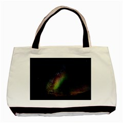 Starry Sky Galaxy Star Milky Way Basic Tote Bag (Two Sides)