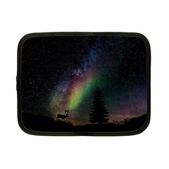 Starry Sky Galaxy Star Milky Way Netbook Case (small)