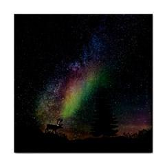Starry Sky Galaxy Star Milky Way Face Towel