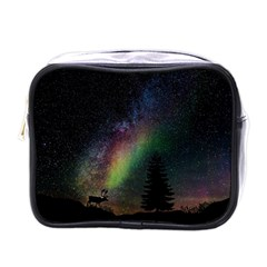 Starry Sky Galaxy Star Milky Way Mini Toiletries Bags
