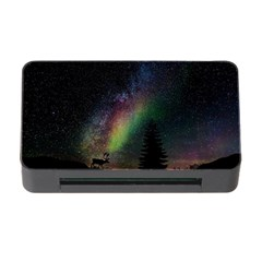 Starry Sky Galaxy Star Milky Way Memory Card Reader with CF
