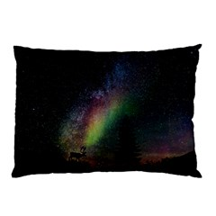 Starry Sky Galaxy Star Milky Way Pillow Case (Two Sides)