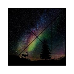Starry Sky Galaxy Star Milky Way Acrylic Tangram Puzzle (6  X 6 )