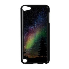 Starry Sky Galaxy Star Milky Way Apple iPod Touch 5 Case (Black)