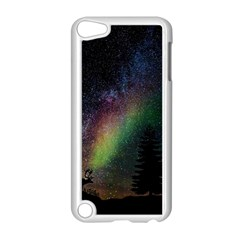 Starry Sky Galaxy Star Milky Way Apple iPod Touch 5 Case (White)