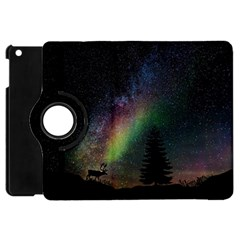 Starry Sky Galaxy Star Milky Way Apple iPad Mini Flip 360 Case