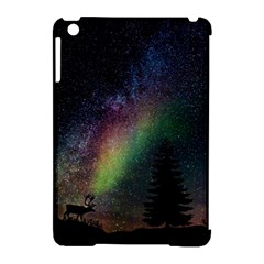 Starry Sky Galaxy Star Milky Way Apple iPad Mini Hardshell Case (Compatible with Smart Cover)