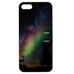 Starry Sky Galaxy Star Milky Way Apple iPhone 5 Hardshell Case with Stand