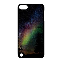 Starry Sky Galaxy Star Milky Way Apple iPod Touch 5 Hardshell Case with Stand