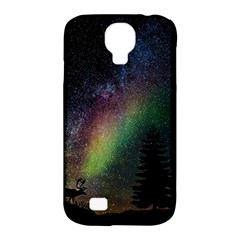 Starry Sky Galaxy Star Milky Way Samsung Galaxy S4 Classic Hardshell Case (pc+silicone)