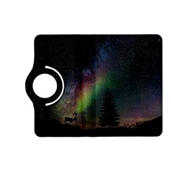 Starry Sky Galaxy Star Milky Way Kindle Fire HD (2013) Flip 360 Case