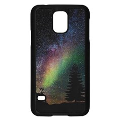 Starry Sky Galaxy Star Milky Way Samsung Galaxy S5 Case (black)