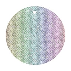 The Background Wallpaper Mosaic Ornament (Round)