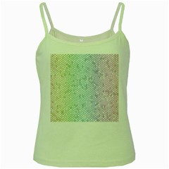 The Background Wallpaper Mosaic Green Spaghetti Tank