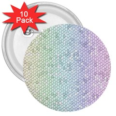 The Background Wallpaper Mosaic 3  Buttons (10 pack)
