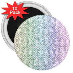 The Background Wallpaper Mosaic 3  Magnets (10 pack)