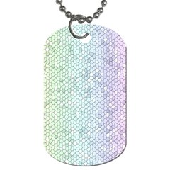 The Background Wallpaper Mosaic Dog Tag (One Side)