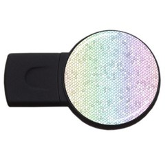 The Background Wallpaper Mosaic USB Flash Drive Round (1 GB)