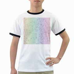 The Background Wallpaper Mosaic Ringer T-Shirts