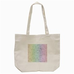 The Background Wallpaper Mosaic Tote Bag (Cream)