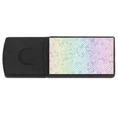 The Background Wallpaper Mosaic USB Flash Drive Rectangular (4 GB)