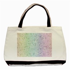 The Background Wallpaper Mosaic Basic Tote Bag