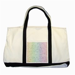 The Background Wallpaper Mosaic Two Tone Tote Bag