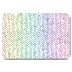 The Background Wallpaper Mosaic Large Doormat