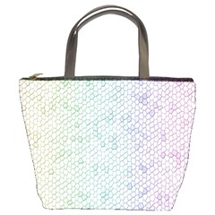 The Background Wallpaper Mosaic Bucket Bags