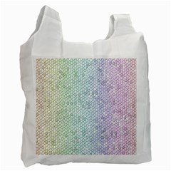 The Background Wallpaper Mosaic Recycle Bag (Two Side)