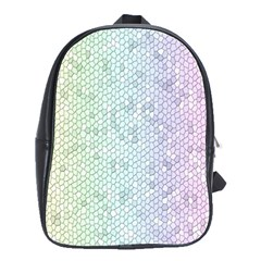 The Background Wallpaper Mosaic School Bags(Large)