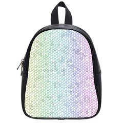 The Background Wallpaper Mosaic School Bags (Small)