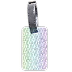 The Background Wallpaper Mosaic Luggage Tags (two Sides)