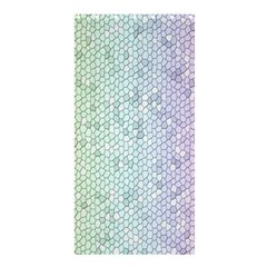 The Background Wallpaper Mosaic Shower Curtain 36  x 72  (Stall)