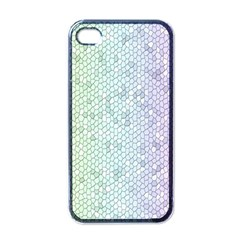 The Background Wallpaper Mosaic Apple iPhone 4 Case (Black)