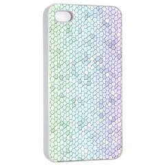The Background Wallpaper Mosaic Apple iPhone 4/4s Seamless Case (White)