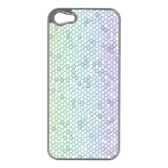 The Background Wallpaper Mosaic Apple iPhone 5 Case (Silver)