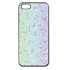 The Background Wallpaper Mosaic Apple iPhone 5 Seamless Case (Black)