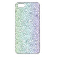 The Background Wallpaper Mosaic Apple Seamless iPhone 5 Case (Clear)