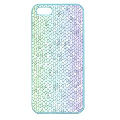 The Background Wallpaper Mosaic Apple Seamless iPhone 5 Case (Color)