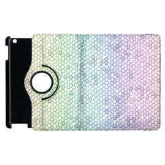 The Background Wallpaper Mosaic Apple iPad 2 Flip 360 Case